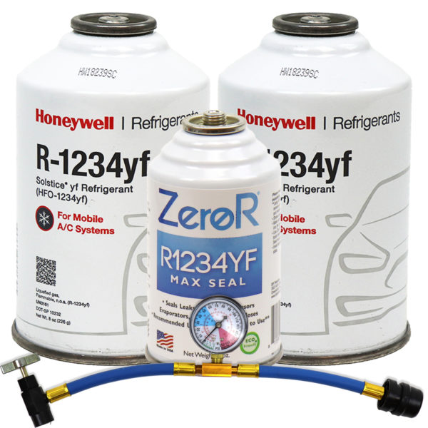 R1234YF AC Stop Leak and Ac recharge Kit